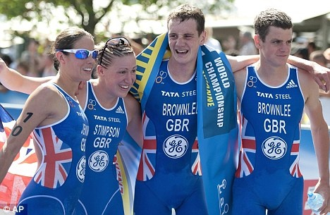 Helen Jenkins, Jodie Stimpson and the Brownlee Brothers - the MASTERS of Triathlon!