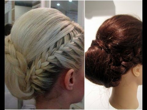I found this picture on pinterest and decided to re create this look. This hairstyle is perfect for a formal occasion like an engagement party or even a wedding. Suits medium to long length hair, people with layers may have fly away's, just smooth over with some hairspra...