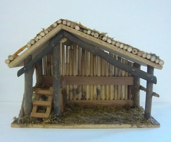 Christmas Manger- we could make this.
