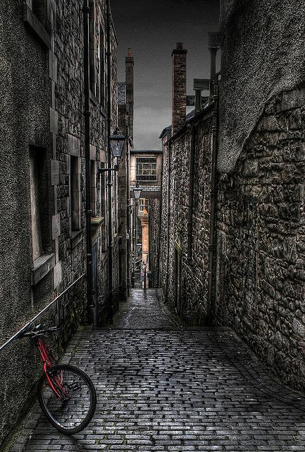 Old Close, Edinburgh.I would love to go see these places one day.Please check out my website thanks. www.photopix.co.nz