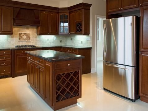 Explore your options for kitchen cabinet colors and finishes, and browse inspirational pictures for ideas from HGTV.