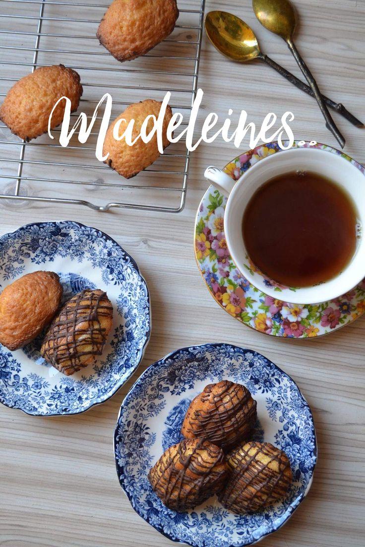Madeleines..  Recipe: http://www.foodstates.gr/2015/02/madeleines.html