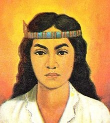 Martha Christina Tiahahu (4 January 1800– 2 January 1818) was a Moluccan freedom fighter and National Heroine of Indonesia.