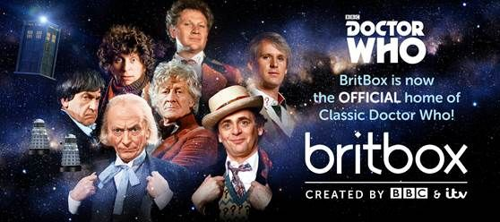 BritBox is the new home for Classic Doctor Who