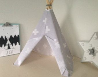 Mini Tipi tent by Letscdewit on Etsy
