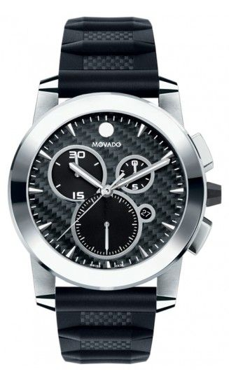 Movado Vizio. Is there anything more manly than tungsten carbide? #movado