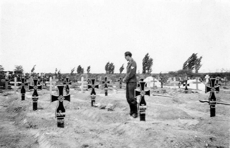 Constanta - Cimitirul armatei naziste - 1941-43