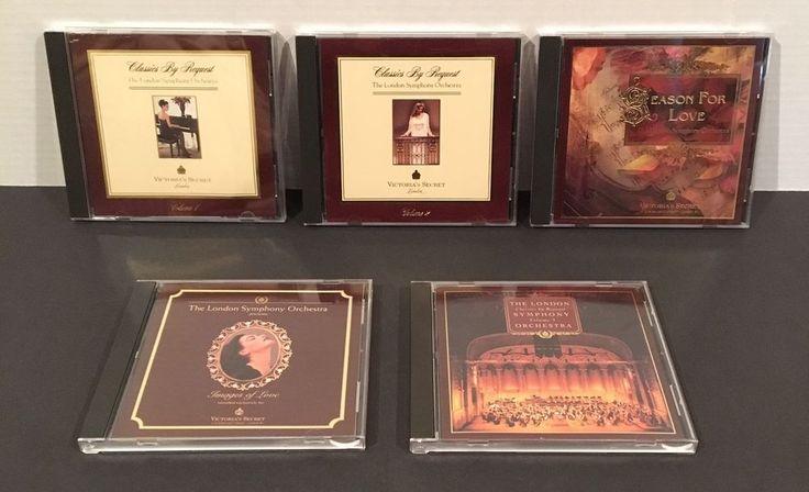 Victoria's Secret Classics By Request 5 CD Set London Symphony Orchestra No Box #Symphony
