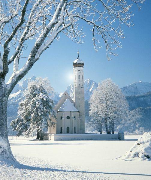 St. Coloman  Schwangau  Bavaria  Germany