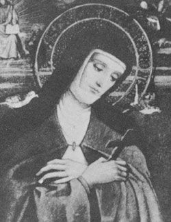 Image of St. Colette Feastday: March 6th pray for us.  Birth: 1380  Death: 1447