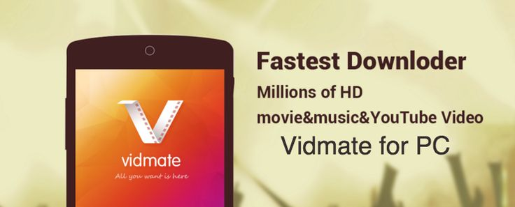 Already we know lot about vidmate video downloader application for android device. Here we have shared the information and discussion on vidmate video downloader for PC.