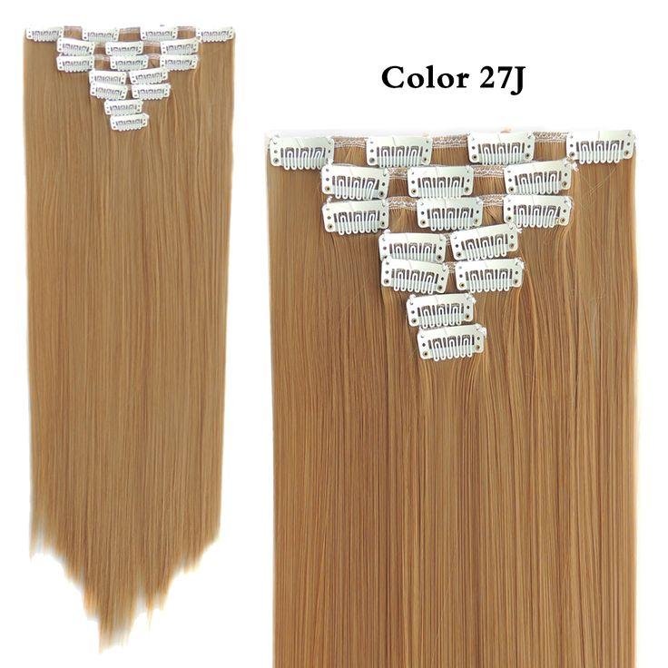 Hair Fibras Tic Tac Cabelo False Extension Aplique de Cabelos Sintetico Extensions Freetress Crazy Color 55cm 130g 7pcs/set     #http://www.jennisonbeautysupply.com/    http://www.jennisonbeautysupply.com/products/hair-fibras-tic-tac-cabelo-false-extension-aplique-de-cabelos-sintetico-extensions-freetress-crazy-color-55cm-130g-7pcsset/,      hair extension,air extensions,clip in hair extensions,extensiones,synthetic hair extensions,hair extension clip,clip in straight hair…