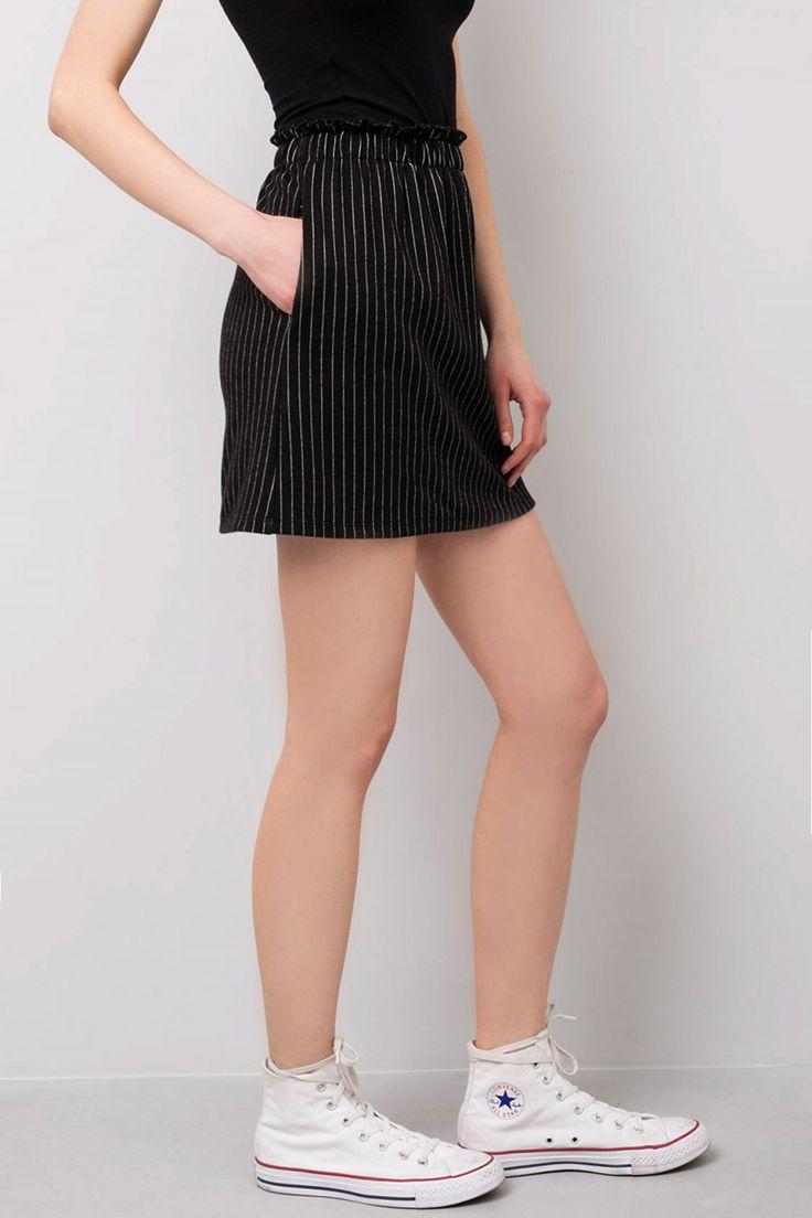 Pinstripes Skirt