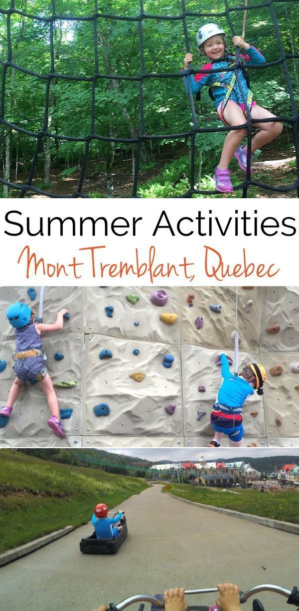 Visiting Mont Tremblant, Quebec in the summer? The best family-friendly activities your kids will love.