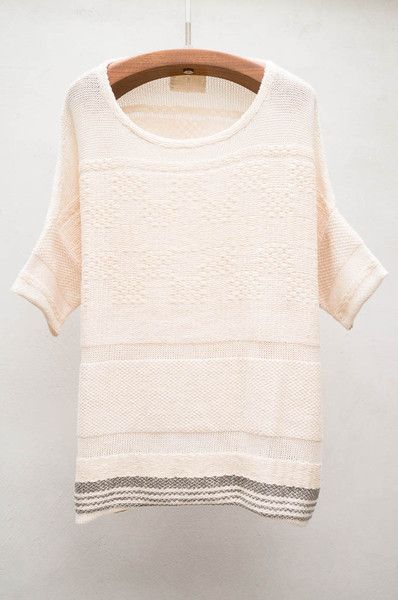 Knitting Queens Ny : Natural hand knit sweater by gary graham lovely things
