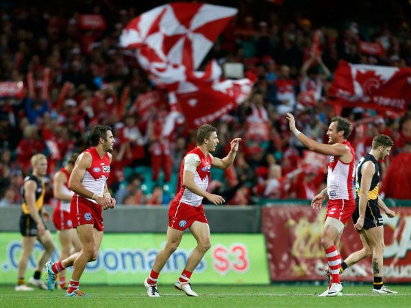 The Swans are on track to retain their AFL premiership crown after another stellar campaign, writes Paddy Naughtin.