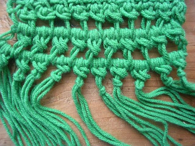 how to change colors mid row tunisian crochet