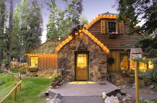 The Cottage Inn located in Tahoe City, California