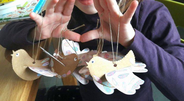 nos petits Oiseaux testés par le Blog Les Perles de Maman :)  http://www.lesperlesdemaman.com/2017/02/oiseaux-poetiques.html