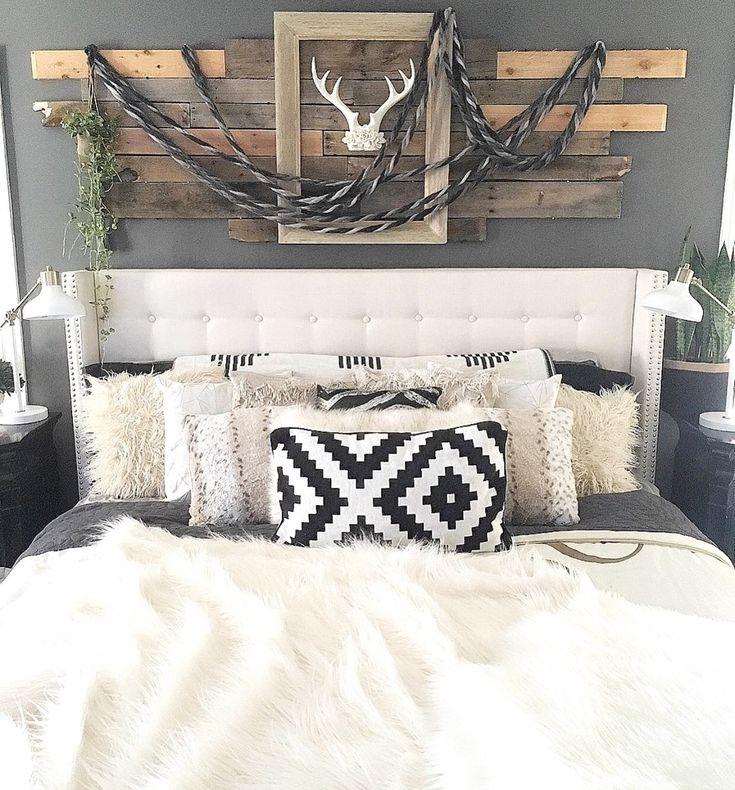 1317 best images about for the home on pinterest oak for Rustic elegant bedroom designs