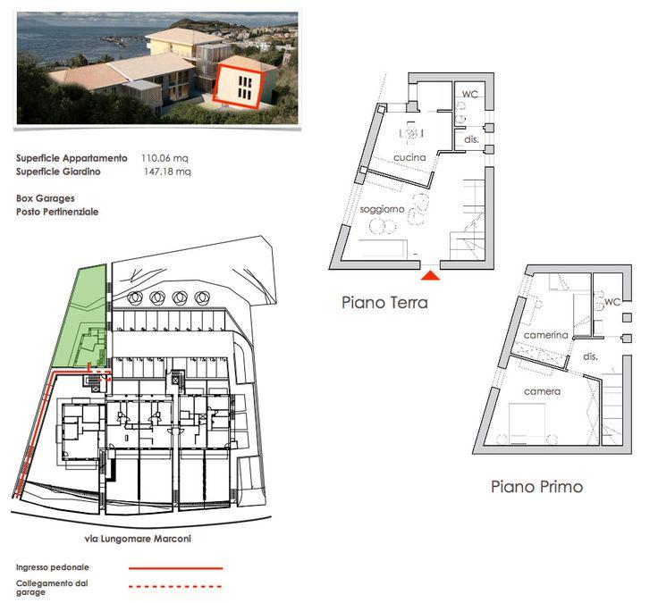 Oltre 1000 idee su planimetrie di case su pinterest for Due progetti di garage per auto