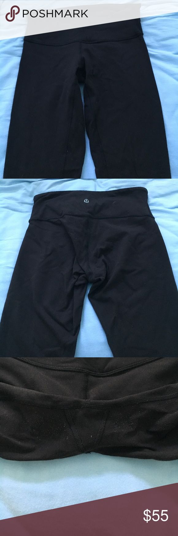 Lululemon Wunder Under Leggings Lululemon wunder under leggings!! About a year old but in very good condition, only slight pilling in crotch area. Selling because they don't fit me anymore. I have two of them for sale! lululemon athletica Pants Leggings