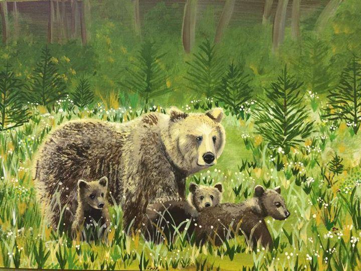 Canadian brown bears .