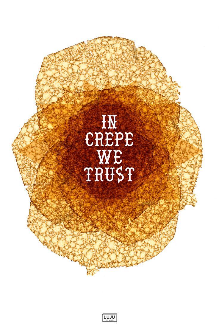 In Crepe we trust !!! Venez découvrir LUJU ...