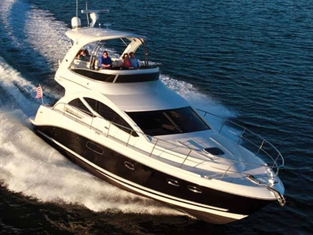 New 2014 Sea Ray Boats 450 Sedan Bridge Motor Yacht Photos- iboats.com 1