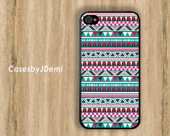 Tribal iPhone Case Bohemian iPhone 5 Case Tribal by CasesByJDemi, $8.99