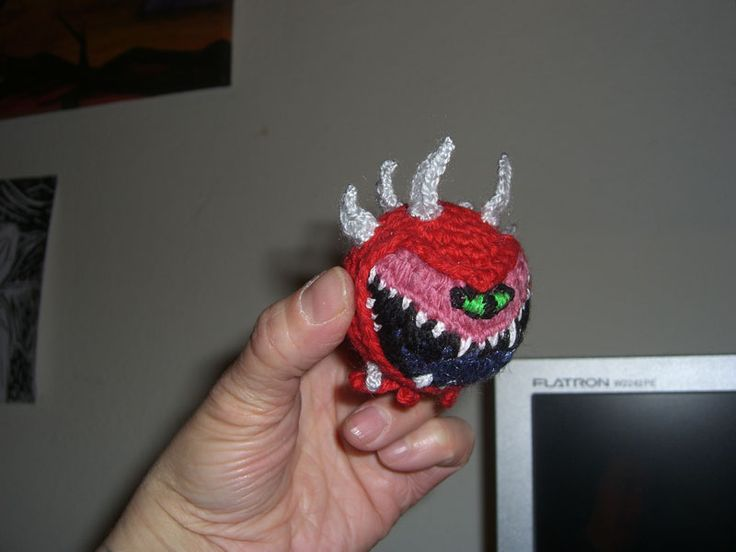 My Cacodemon from Doom (PC Game)