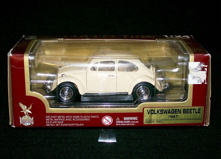 Diecast 1967 Volkswagen Beetle 1 24 Scale Model