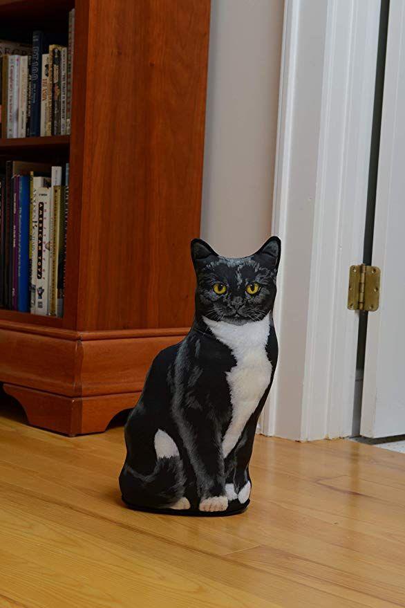 DOOR STOPPERS TUXEDO CAT DOOR STOP CAT DOORSTOP
