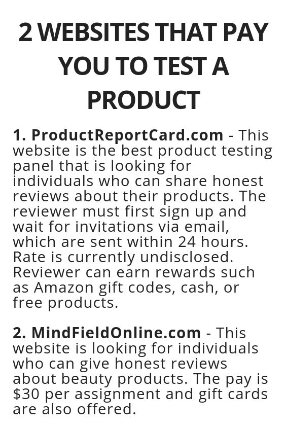 2 Websites That Pay You To Test A Product Wisdom Lives Here