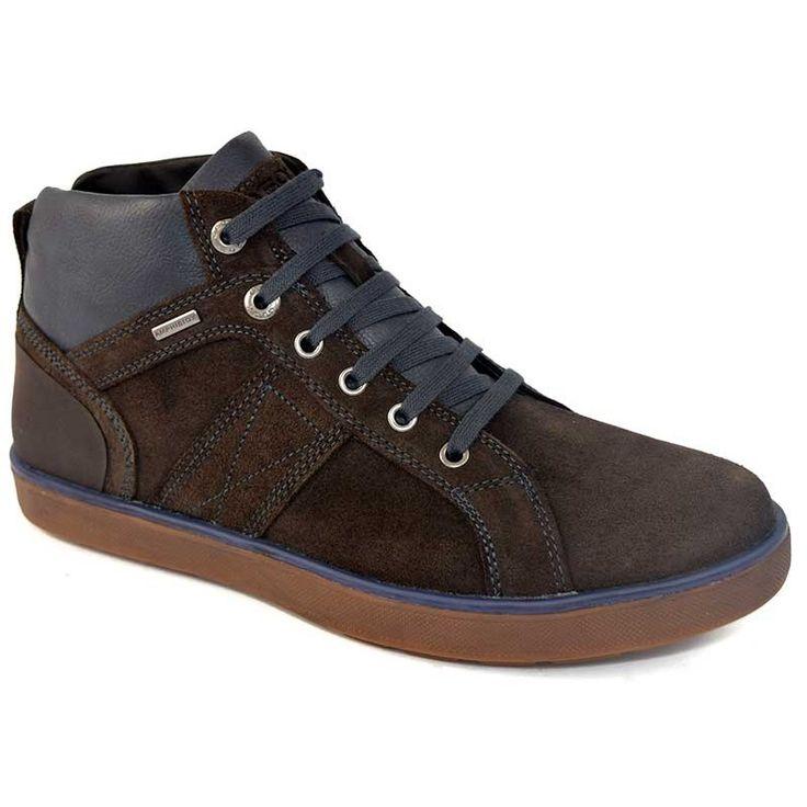 Harris - Zapatos de cordones de Piel para hombre Marrón BLU BROWN Marrón Size: 43 2O5Wo