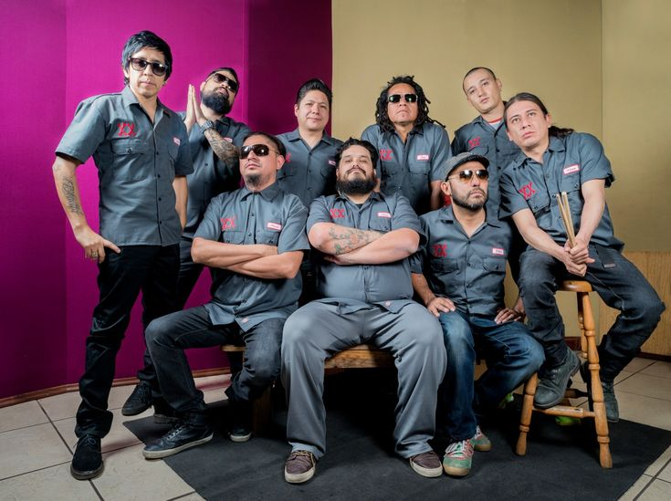 Rock out with Mexican ska band Panteon Rococo at The Novo by Microsoft on Saturday July 23!