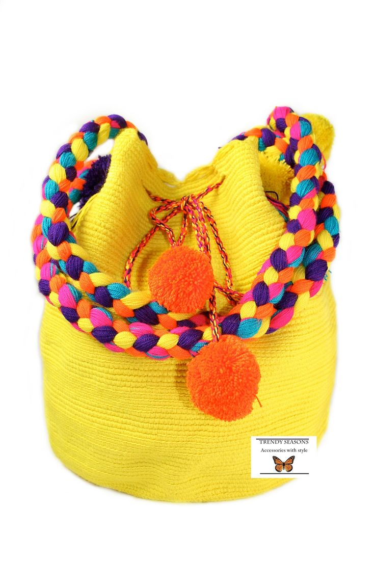 "Wayuu mochila   the new ""It"" bag.  Missoni ,  lauren santo Domingo  and others designers are  big fans of the new plastic ..."