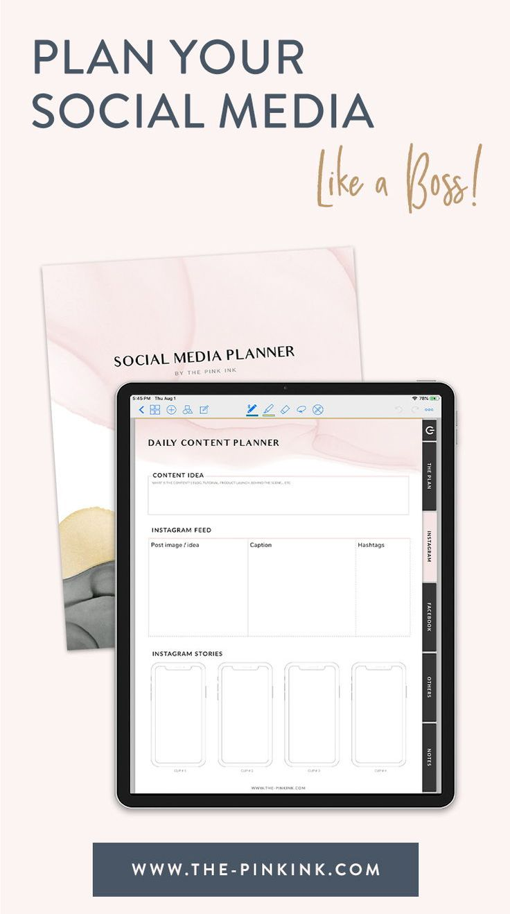 Plan like a boss digital planner. A digital planner that