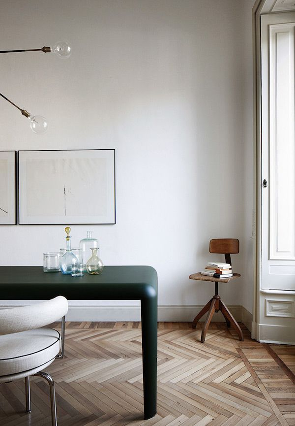 Designer Files: Parisian Chic Dining Room - Apartment34