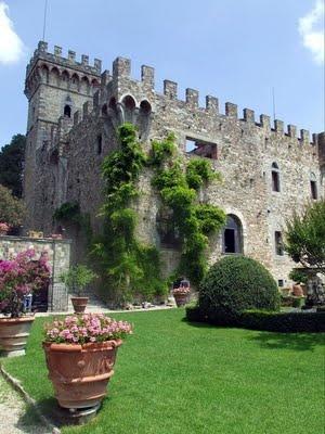 Castello di Vincigliata, Firenze, Toscana - Italy