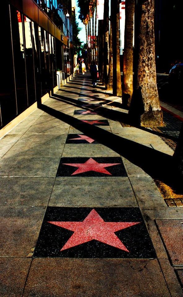 LA Los Angeles Hollywood Walk of Fame Photography Stars
