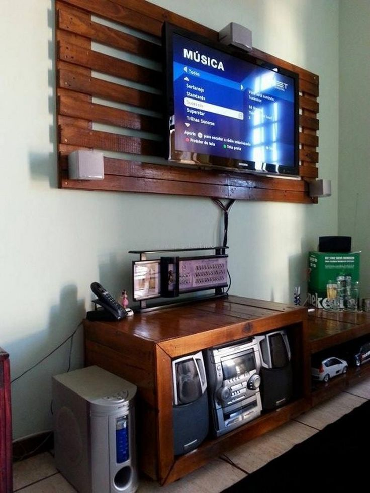 Wood Pallet Shelving Ideas