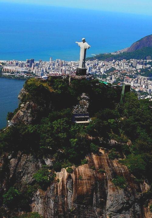 Rio de janeiro, Brazil and Christ the redeemer on Pinterest