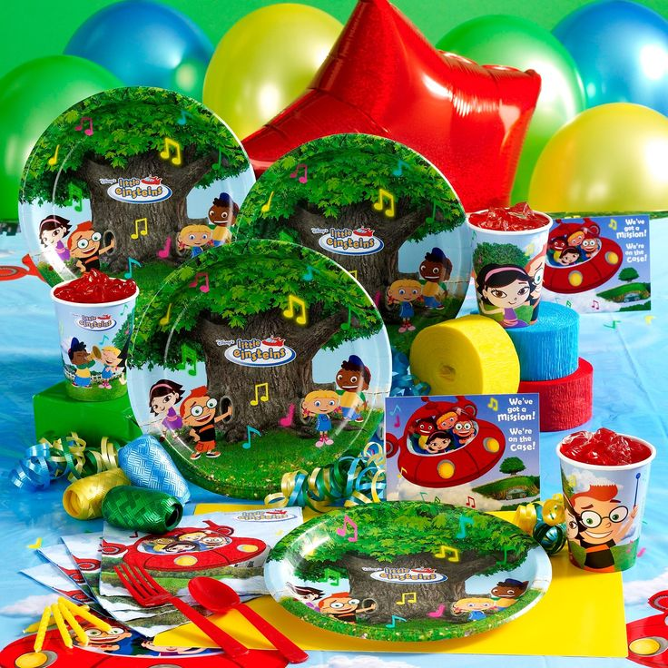 Little Einsteins Deluxe party pack