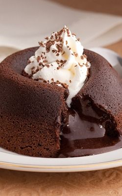 Extra Dark Molten Mocha Dessert