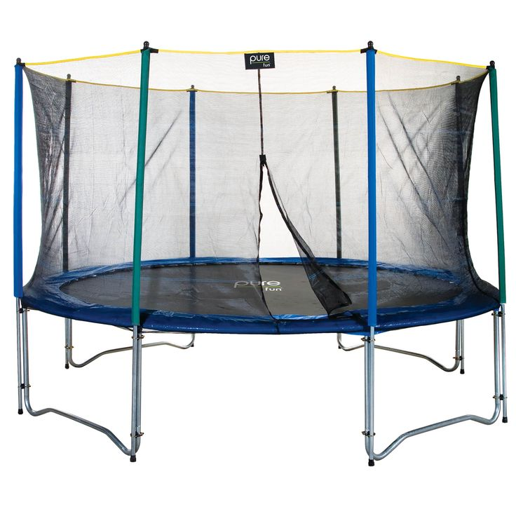 Pure Fun 12ft Trampoline with Enclosure