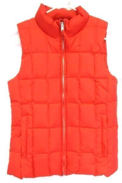 9.90$  Buy now - http://vidbd.justgood.pw/vig/item.php?t=8q9mbc15956 - GAP Women's Red Down Filled Puffer Zip Up Vest Size Small 9.90$