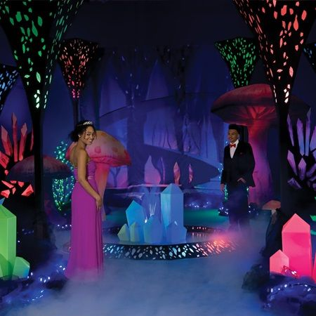 Crystal Forest Complete Prom Theme Rock Your World With A Lighted That Is Sure To Cast Festive Glow On Special Night