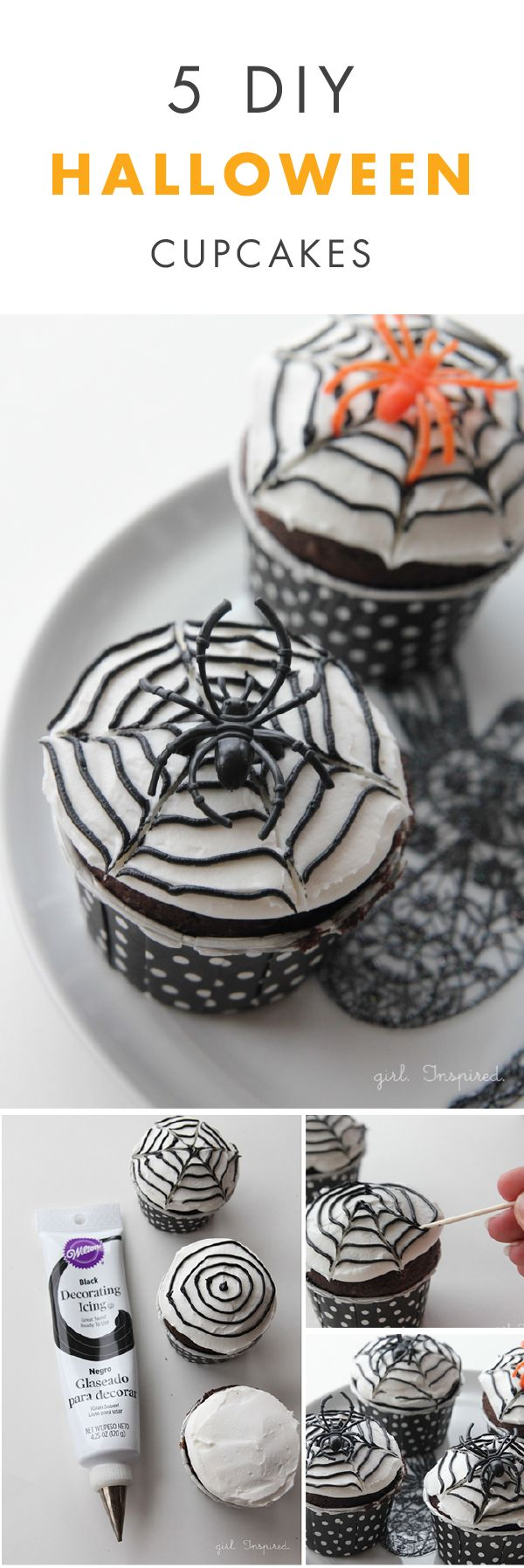 5 diy halloween cupcakes - Where Does The Halloween Celebration Come From