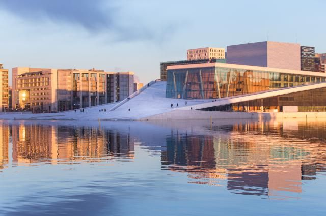 About the Operahuset in Oslo, Norway: A Sweeping Plan for Oslo